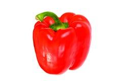 φρέσκο κόκκινο πιπεριών κ&omicr απομονωμένος Στοκ εικόνες με δικαίωμα ελεύθερης χρήσης