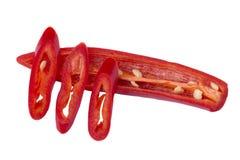 φρέσκο κόκκινο τσίλι Στοκ εικόνα με δικαίωμα ελεύθερης χρήσης