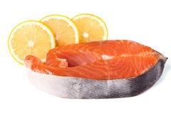 φρέσκο κόκκινο ψαριών Σολομός Στοκ Εικόνες
