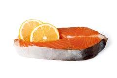 φρέσκο κόκκινο ψαριών Σολομός Στοκ φωτογραφίες με δικαίωμα ελεύθερης χρήσης
