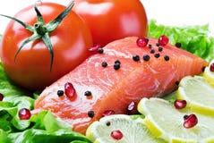 φρέσκο κόκκινο ψαριών Στοκ φωτογραφία με δικαίωμα ελεύθερης χρήσης