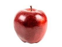 Φρέσκο κόκκινο - Apple που απομονώνεται η εύγευστη Στοκ φωτογραφίες με δικαίωμα ελεύθερης χρήσης