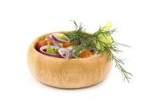 φρέσκο λαχανικό σαλάτας Στοκ Εικόνες