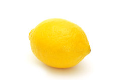 φρέσκο λεμόνι - κίτρινο στοκ εικόνα
