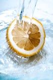 φρέσκο λεμόνι Στοκ φωτογραφία με δικαίωμα ελεύθερης χρήσης