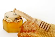 φρέσκο μέλι Στοκ εικόνα με δικαίωμα ελεύθερης χρήσης
