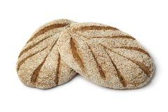 Φρέσκο μαροκινό semolina ψωμί Στοκ φωτογραφία με δικαίωμα ελεύθερης χρήσης