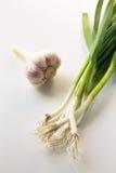 Φρέσκο νέο σκόρδο Στοκ Εικόνες