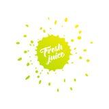 Φρέσκο λογότυπο χυμού Ελεύθερη απεικόνιση δικαιώματος