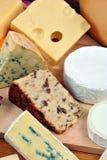 φρέσκο οργανικό platter τυριών Στοκ φωτογραφία με δικαίωμα ελεύθερης χρήσης