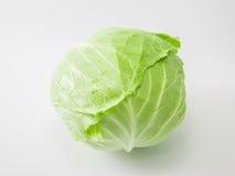 Φρέσκο ολόκληρο πράσινο λάχανο Στοκ εικόνες με δικαίωμα ελεύθερης χρήσης