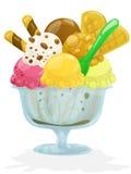 φρέσκο παγωτό Στοκ Φωτογραφίες