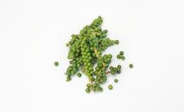 Φρέσκο πιπέρι στο άσπρο υπόβαθρο Στοκ Εικόνα