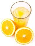 φρέσκο πορτοκάλι χυμού Στοκ Εικόνα