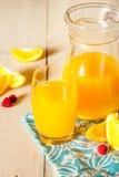 φρέσκο πορτοκάλι χυμού Στοκ Φωτογραφία