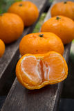 φρέσκο πορτοκάλι Στοκ Εικόνα