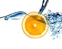 φρέσκο πορτοκαλί ύδωρ άλμ&alph Στοκ Φωτογραφία