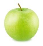 φρέσκο πράσινο απομονωμένο λευκό ανασκόπησης μήλων Στοκ εικόνα με δικαίωμα ελεύθερης χρήσης
