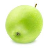 φρέσκο πράσινο απομονωμένο λευκό ανασκόπησης μήλων Στοκ φωτογραφία με δικαίωμα ελεύθερης χρήσης
