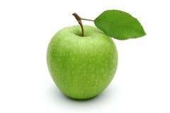 Φρέσκο πράσινο μήλο Στοκ Φωτογραφίες