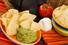 φρέσκο πρόχειρο φαγητό guacamole Στοκ φωτογραφία με δικαίωμα ελεύθερης χρήσης