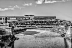 Φρέσκο τραίνο Στοκ Φωτογραφία