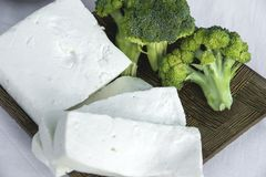 Φρέσκο τυρί 2 αιγών Στοκ φωτογραφία με δικαίωμα ελεύθερης χρήσης