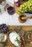 Φρέσκο τυρί 11 αιγών Στοκ εικόνες με δικαίωμα ελεύθερης χρήσης