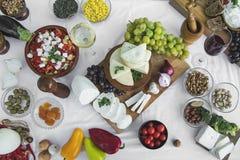 Φρέσκο τυρί 12 αιγών Στοκ εικόνες με δικαίωμα ελεύθερης χρήσης