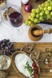 Φρέσκο τυρί 15 αιγών Στοκ φωτογραφία με δικαίωμα ελεύθερης χρήσης