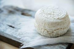 φρέσκο τυρί από το γάλα της αίγας Στοκ Φωτογραφίες