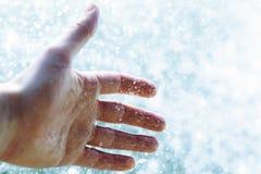 Φρέσκο χέρι Στοκ Εικόνα