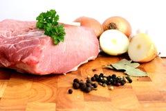 Φρέσκο χοιρινό κρέας στοκ εικόνες με δικαίωμα ελεύθερης χρήσης