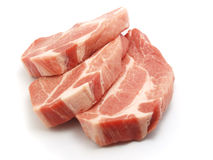 φρέσκο χοιρινό κρέας Στοκ φωτογραφία με δικαίωμα ελεύθερης χρήσης