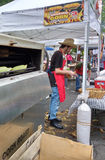Φρέσκο ψημένο καλαμπόκι σε μια τοπική έκθεση οδών στοκ φωτογραφίες με δικαίωμα ελεύθερης χρήσης