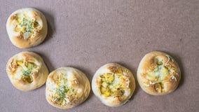 Φρέσκο ψωμί από το φούρνο Στοκ Φωτογραφίες