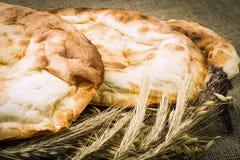 Φρέσκο ψωμί pita Στοκ Εικόνες