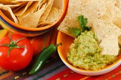 φρέσκο guacamole Στοκ φωτογραφία με δικαίωμα ελεύθερης χρήσης