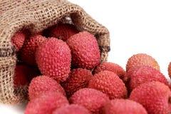 Φρέσκο lychee στοκ φωτογραφίες με δικαίωμα ελεύθερης χρήσης