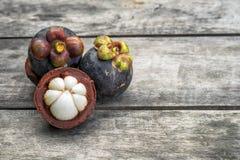 φρέσκο mangosteen Στοκ φωτογραφία με δικαίωμα ελεύθερης χρήσης