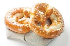Φρέσκο pretzel Στοκ Φωτογραφία