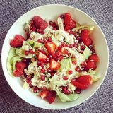 φρέσκο salat Στοκ εικόνα με δικαίωμα ελεύθερης χρήσης