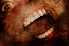 Φρίκη αποκριών Στοκ εικόνα με δικαίωμα ελεύθερης χρήσης