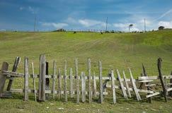 φραγές ξύλινες στοκ φωτογραφία με δικαίωμα ελεύθερης χρήσης