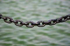 φραγή αλυσίδων Στοκ φωτογραφίες με δικαίωμα ελεύθερης χρήσης