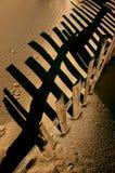 φραγή αμμόλοφων Στοκ εικόνες με δικαίωμα ελεύθερης χρήσης