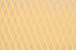 Φραγή καλωδίων σιδήρου Στοκ φωτογραφία με δικαίωμα ελεύθερης χρήσης