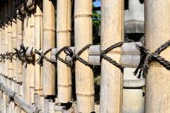 φραγή μπαμπού Στοκ φωτογραφίες με δικαίωμα ελεύθερης χρήσης