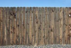 φραγή ξύλινη Στοκ εικόνες με δικαίωμα ελεύθερης χρήσης