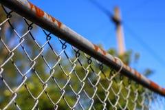 φραγή σκουριασμένη Στοκ φωτογραφίες με δικαίωμα ελεύθερης χρήσης